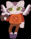Kittyraptor as Mae Borowski by Kittyraptor