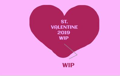 ST VALENTINE 2019-SB- heartbreaker-WIP- DO NOT FAV by Mairelyn