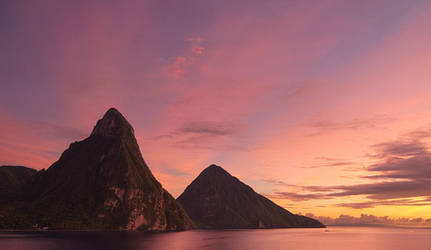 The Pitons by PastyGuy