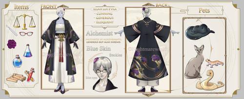 FFXIV Character Sheet CM: Castorre