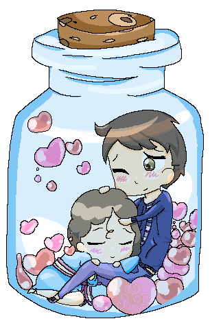 Bottled Love by Meimo15