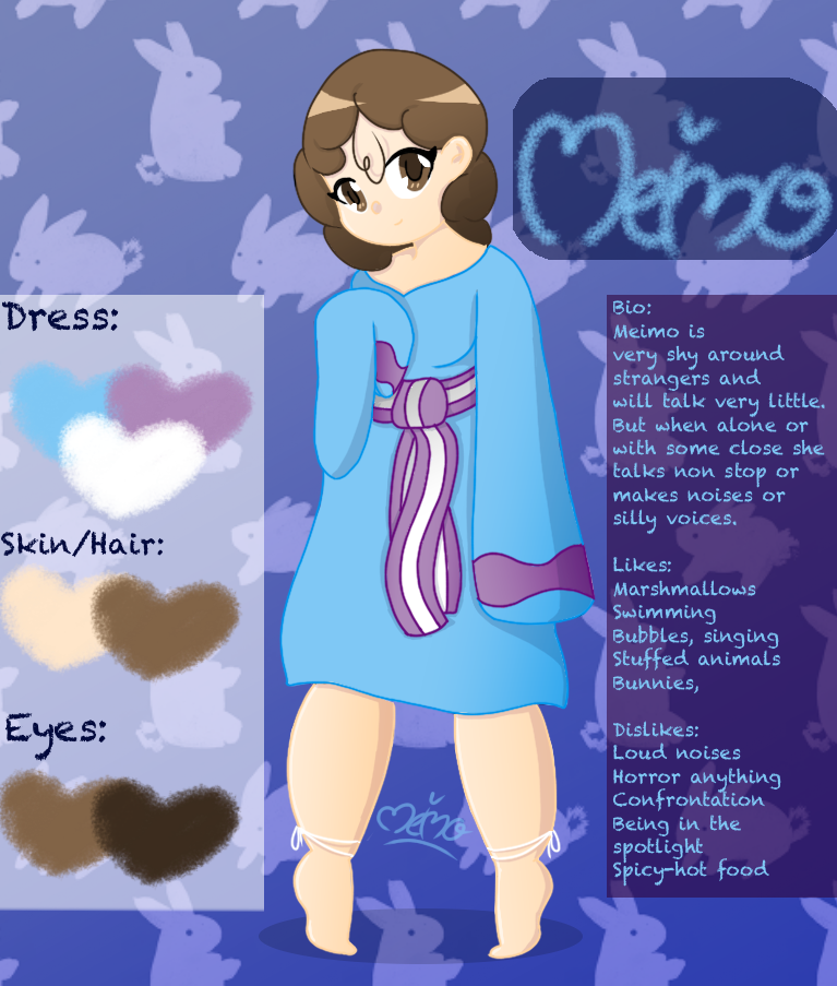 Reference Sheet: Meimo by Meimo15