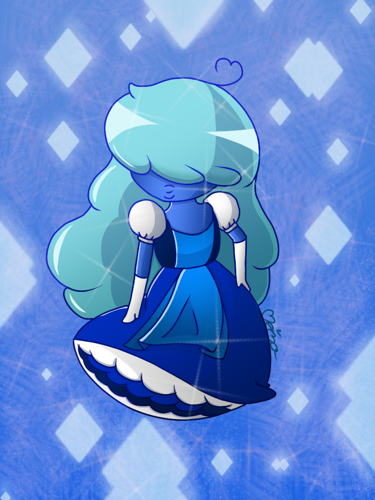 Steven Universe: Sapphire by Meimo15