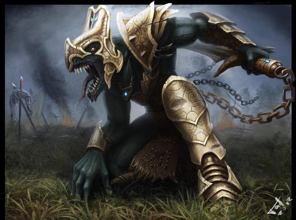 Raptor berserker by Gadyukevi4