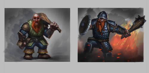 Dwarfs sketch by Gadyukevi4