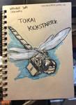 Inktober 30 Dragonfly