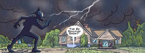 No one suspects the 'Ed Sullivan Show'