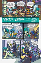 Them's Learnin Herds: Study Break Page 1