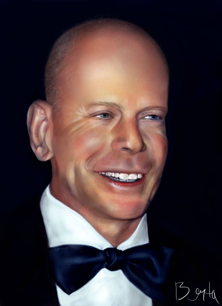 c4bb04409ace9 Bruce Willis caricature by NabuCoo on DeviantArt