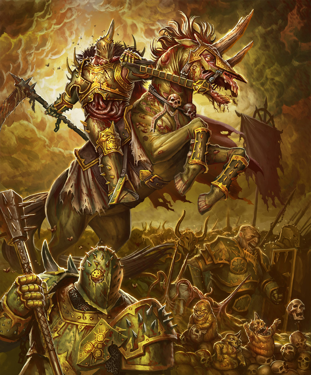 Nurgle army by JohanGrenier on DeviantArt
