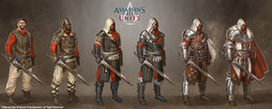 assassin's creed unity medieval gears