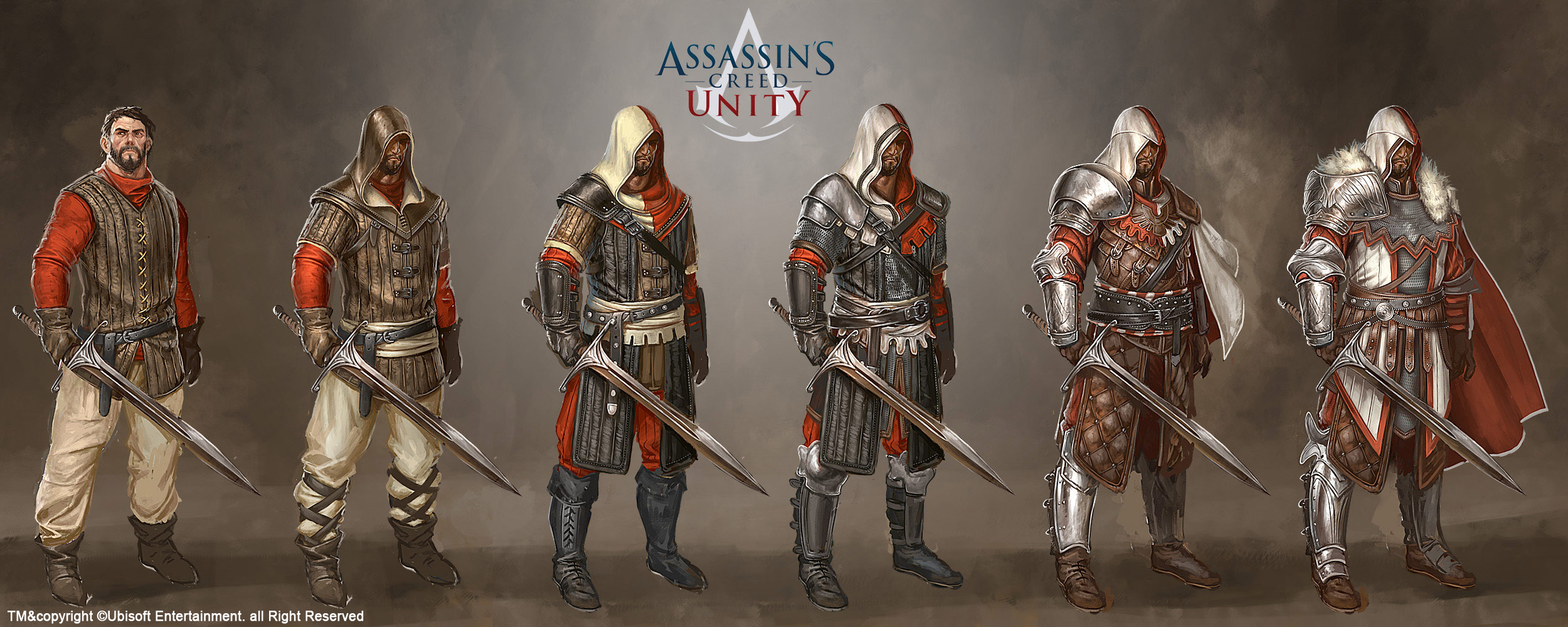 Assassin S Creed Unity Medieval Gears By Johangrenier On Deviantart