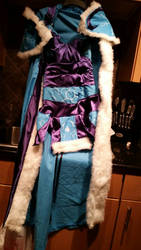 DOTA 2 Crystal Maiden costume by catenn