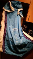 DOTA 2 Crystal Maiden costume - back by catenn