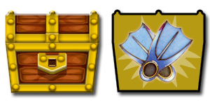 Flippers (Chest Token) by 001rich100