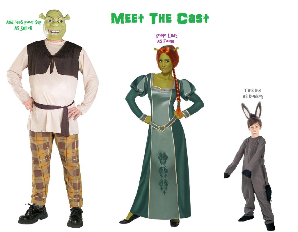 shrek 3 meet the cast