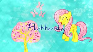 New Fluttershy Wallpaper