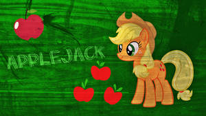 New Applejack Wallpaper