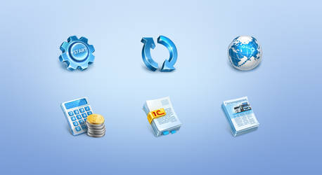 Icons for program Coralway