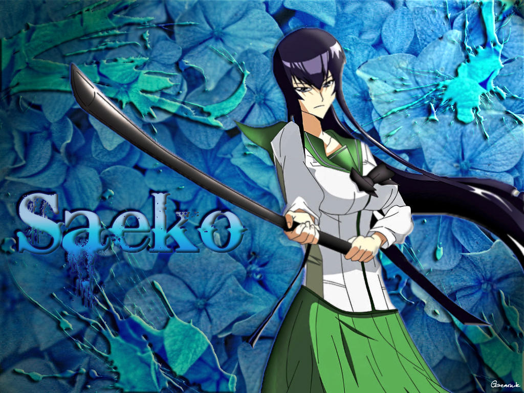 Saeko Busujima Wallpaper 2 by Gazownik