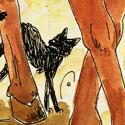 Alors une Égyptienne, avec des dagues, menue, malicieuse et un taureau... :p