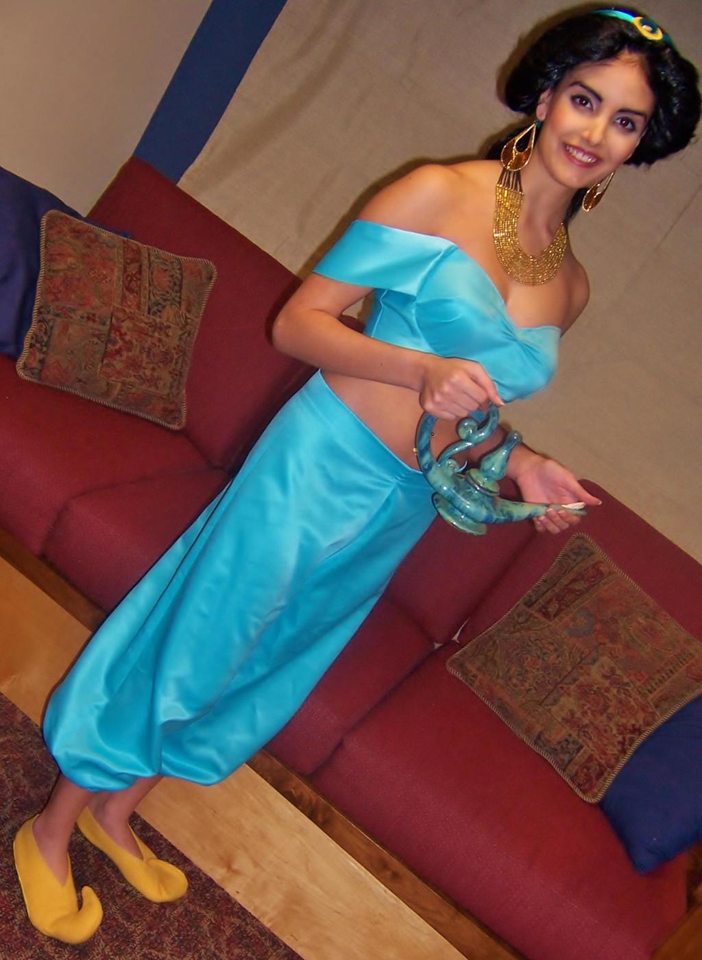 princess jasmine costume full by linscatmeow on deviantart. Black Bedroom Furniture Sets. Home Design Ideas