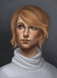 Art trade: Lorelai Ryder by kupieckorzenny