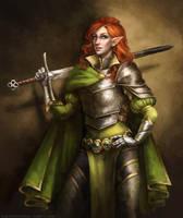 Lady Shandara Fenume-Aranel of House Gwydion by kupieckorzenny