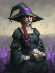 A witch by kupieckorzenny