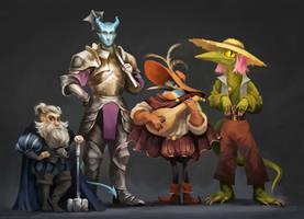 The squad by kupieckorzenny