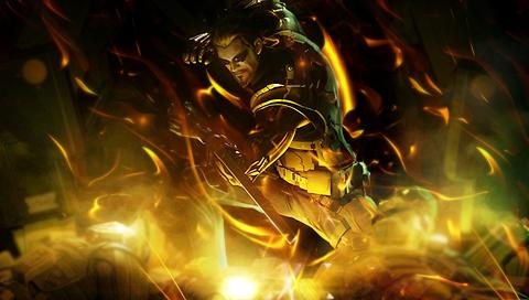 Deus Ex - PSP Wallpaper by RhymeToTheReason