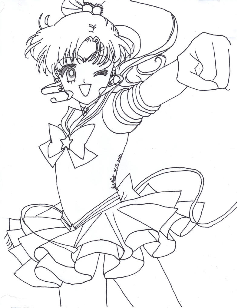 Eternal Sailor Moon Coloring Page monster inc books coloring pages