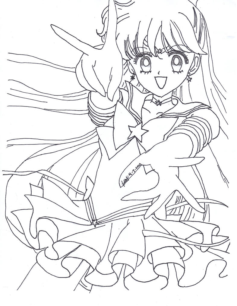 Eternal Sailor Venus Lineart by sailor-phoenix93 on DeviantArt