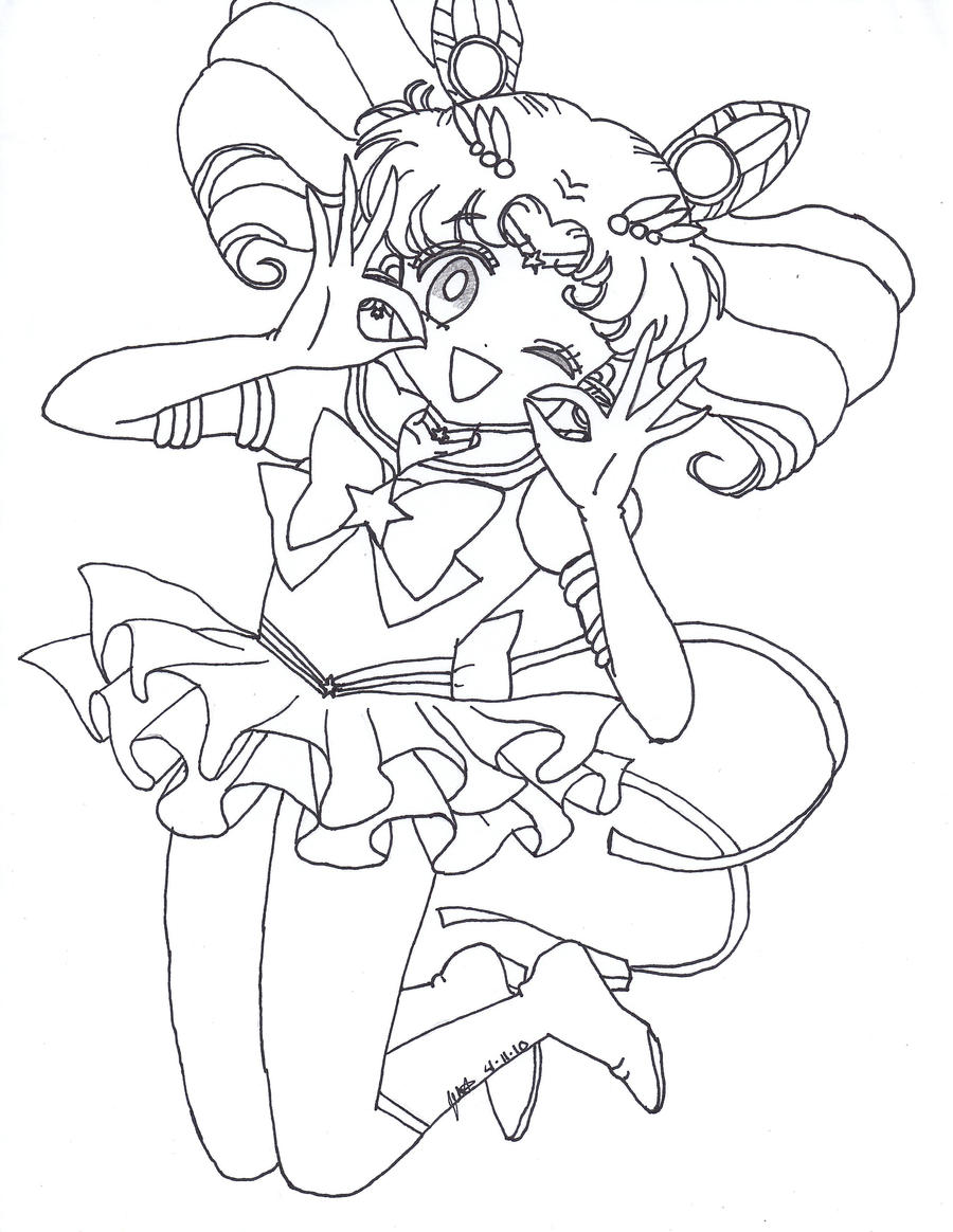 Eternal Sailor Moon Coloring Pages - nornas.info