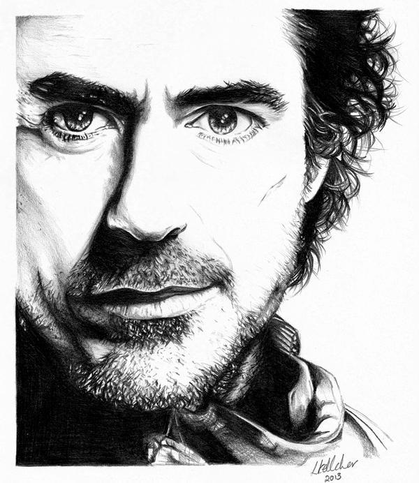Sherlock Holmes by LornaKelleherArt