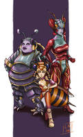 Magus Sisters - FFX