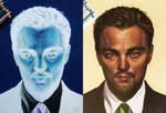 Leonardo DiCaprio - inverted drawing