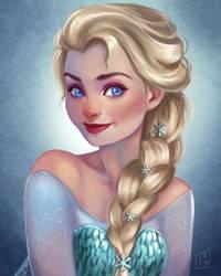 Elsa by LornaKelleherArt