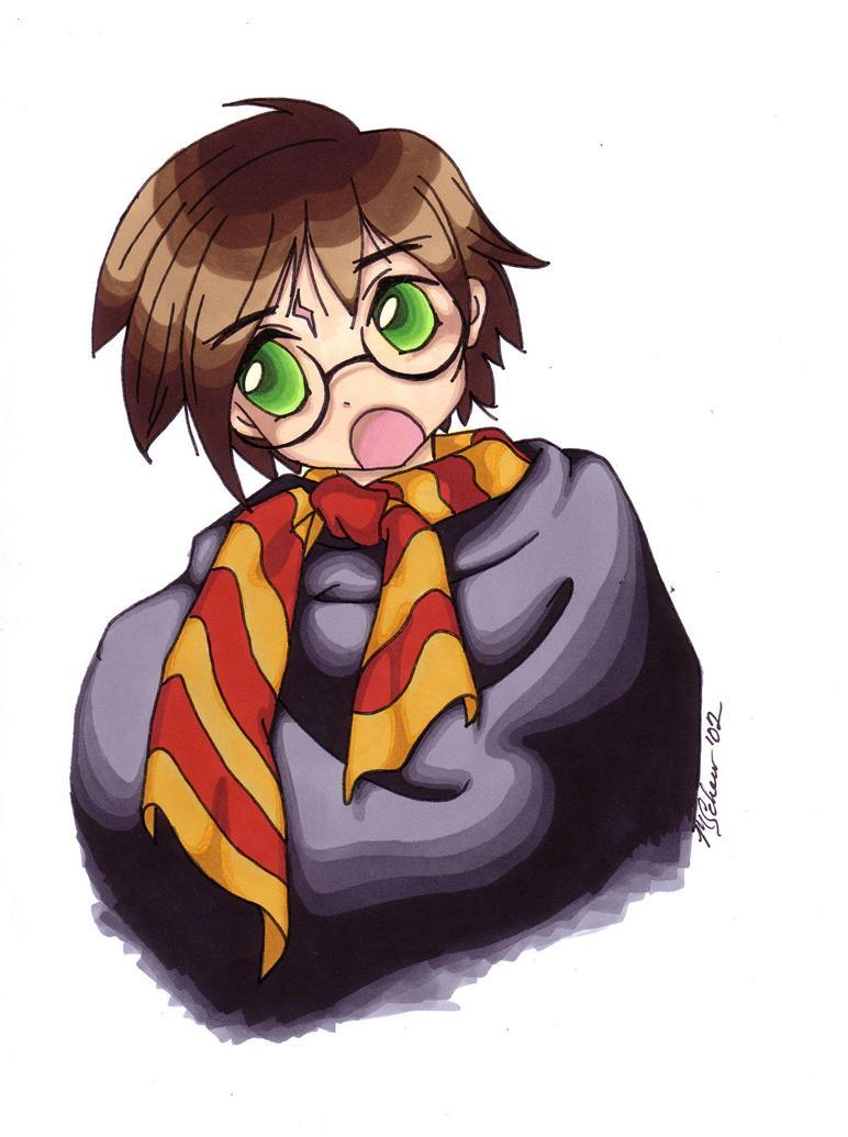 HP: harry potter by KrisKenshin