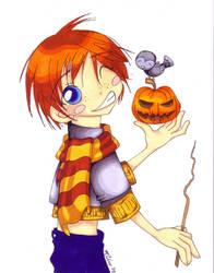 HP: Ron by KrisKenshin