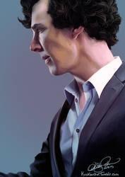 SherlockBBC: Sherlock by KrisKenshin