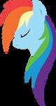 Minimal Rainbow Dash