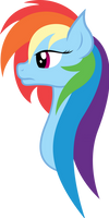 Rainbow Dash Portrait