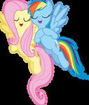 Dashie and Fluttershy 1