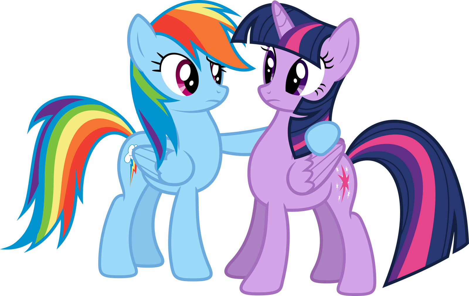 Dashie and Twi 1 by xPesifeindx