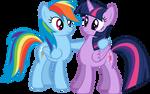 Dashie and Twi 1