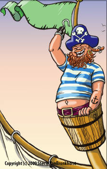Carlyle the pirate