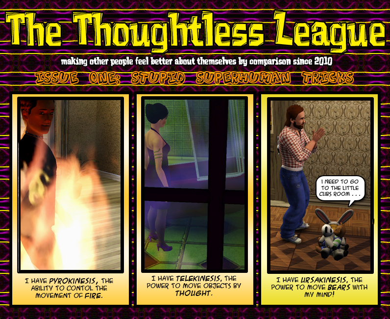 The Thoughtless League: EP1-2 by SavvyRed