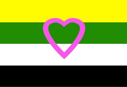 Proposed Skoliosexual Flag