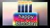 Happy birthday stamp by SavvyRed